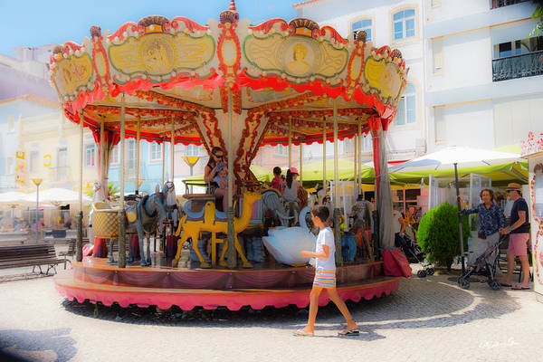 Wall Art - Photograph - Carousel Dreams - Portugal by Madeline Ellis