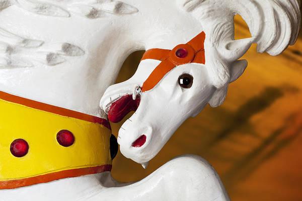 Wall Art - Photograph - Carousel Horse 1 by Kelley King