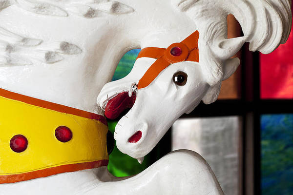 Wall Art - Photograph - Carousel Horse 3 by Kelley King