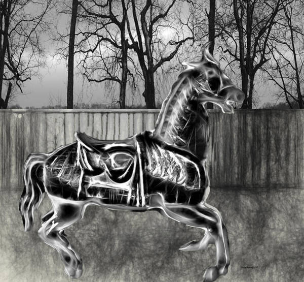 Photograph - Carousel Horse 6 by Ericamaxine Price