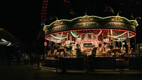 Photograph - Carousel by Nisah Cheatham