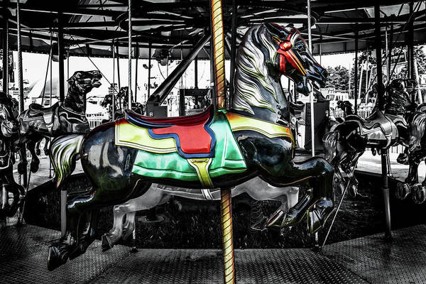 Photograph - Carousel Number14 by Michael Arend