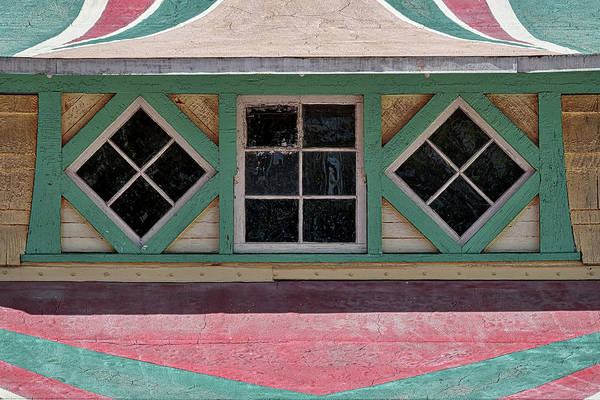 Photograph - Carousel Pavillion Windows by Stuart Litoff