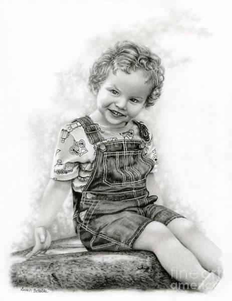Innocence Drawing - Carpe Diem by Sarah Batalka
