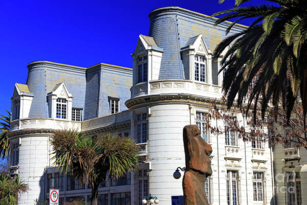Photograph - Carrasco Palace Building Design In Vina Del Mar by John Rizzuto