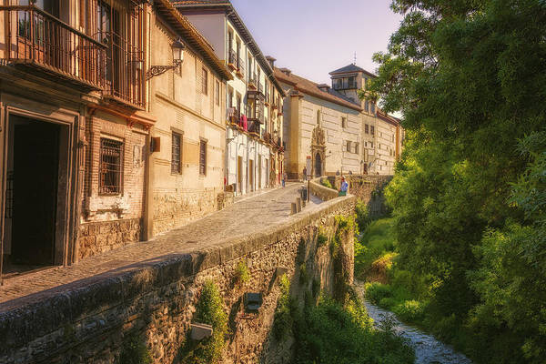 Photograph - Carrera Del Darro Granada by Joan Carroll