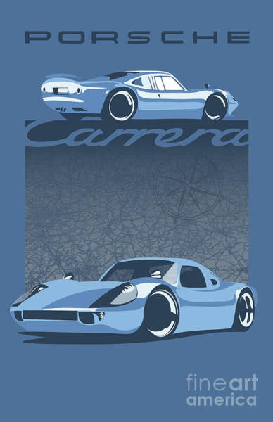 Digital Art - Carrera by Sassan Filsoof