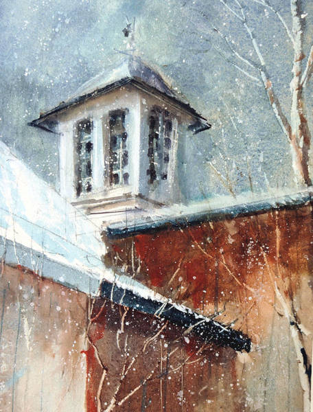 Painting - Liberty-carriage House Cupola by Charles Rowland
