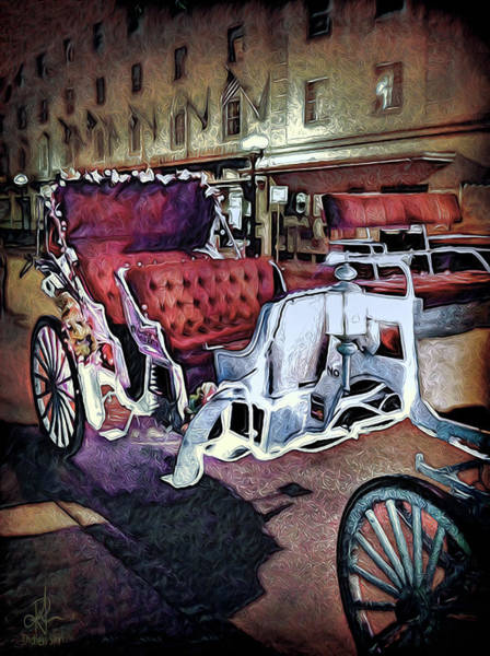 Photograph - Carriage Ride At Night by Pennie McCracken