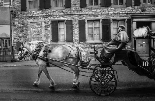 Photograph - Carriage Ride Series 15 by Carlos Diaz