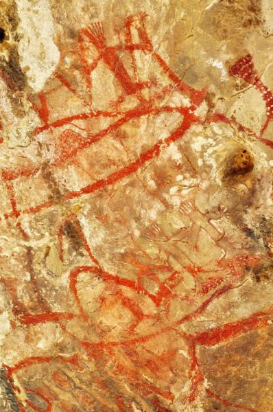 Photograph - Carrizo Plain Painted Rock Portrait by Kyle Hanson