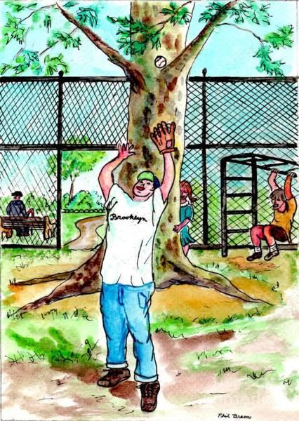 Carroll Park Was A Favorite Playground For The Neighborhood Kids Art Print