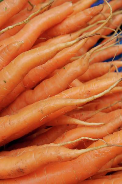 Photograph - Carrot Market Bergen by KG Thienemann