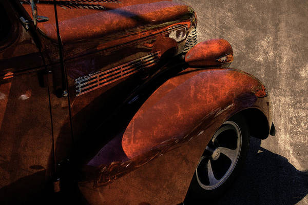 Photograph - Cars Master Deluxe Pavement Rust by Lesa Fine