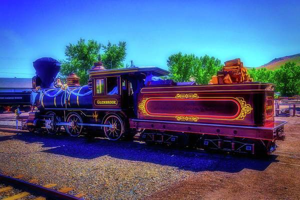 Gauge Photograph - Carson City Glenbrook Locomotive by Garry Gay