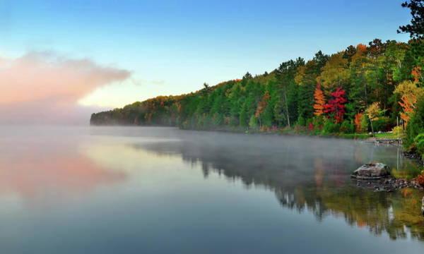 Madawaska Lake Photograph - Carson Lake This Fall by Andrzej Pradzynski