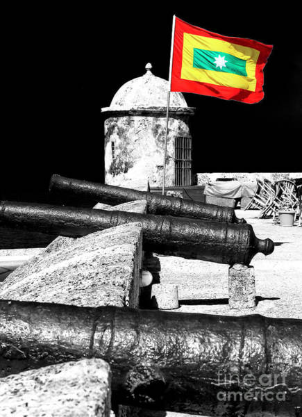 Photograph - Cartagena De Indias Flag by John Rizzuto