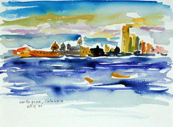 Painting - Cartagena I by Ingrid Dohm