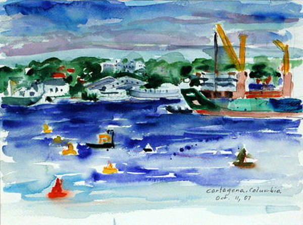 Painting - Cartagena II by Ingrid Dohm