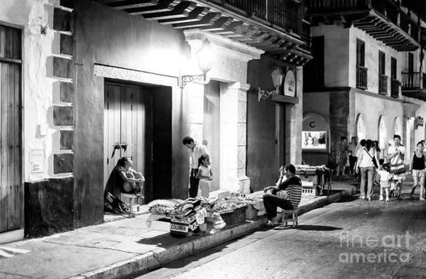 Photograph - Cartagena Night by John Rizzuto