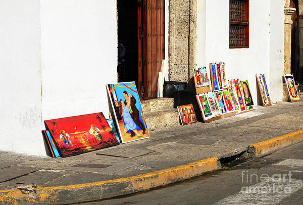 Photograph - Cartagena Street Art by John Rizzuto