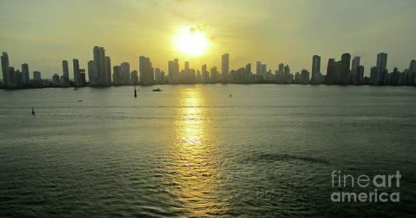 Wall Art - Photograph - Cartagena Sunset 1 by Randall Weidner