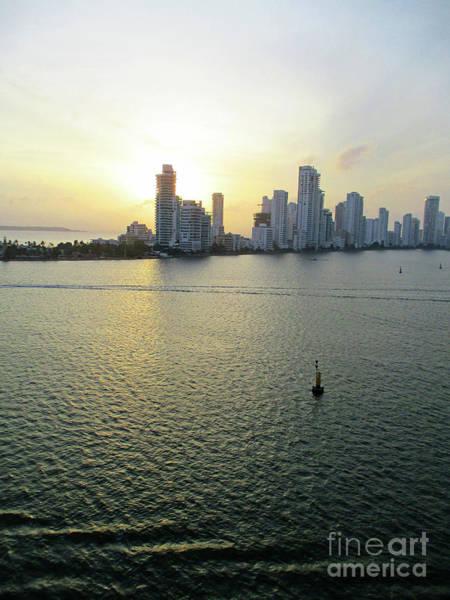 Wall Art - Photograph - Cartagena Sunset 3 by Randall Weidner