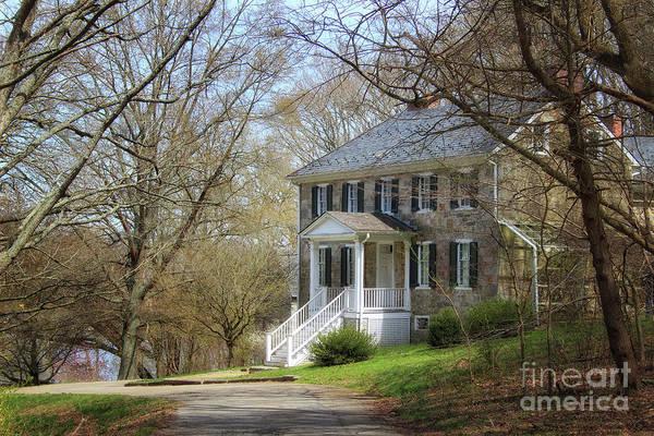 Photograph - Carter Archer Mansion by Karen Adams