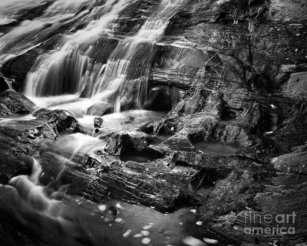 Photograph - Carter Falls 1 by Patrick M Lynch