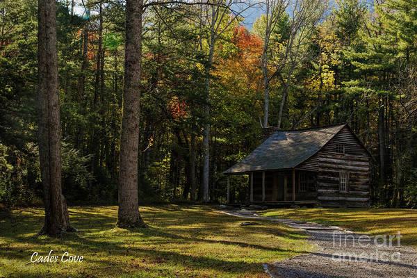 Photograph - Carter Shields Cabin by Barbara Bowen