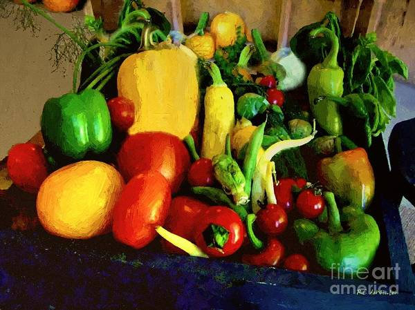 Painting - Carting Home The Prize by RC DeWinter