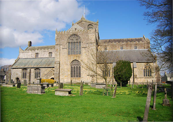 Cartmel Priory Photograph - Cartmel Priory by Peter Jenkins