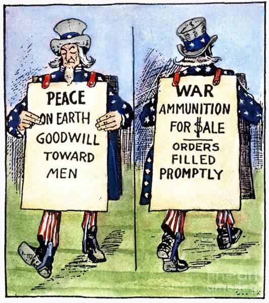 Photograph - Cartoon: U.s. Neutrality by Granger