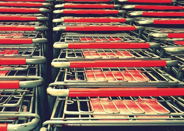 Photograph - Carts by Gia Marie Houck