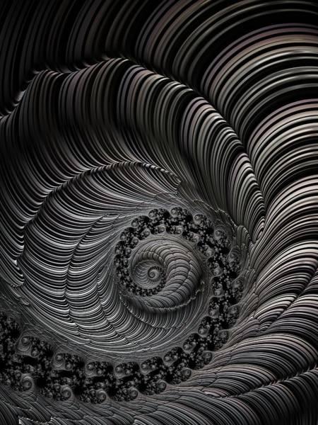 Wall Art - Digital Art - Carved Spiral by Amanda Moore