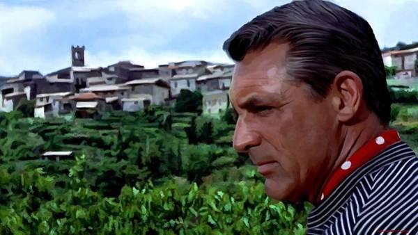 Digital Art - Cary Grant @ To Catch A Thief by Gabriel T Toro