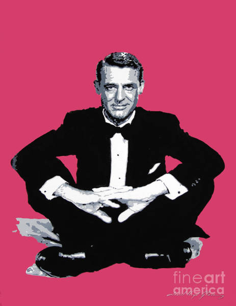 Wall Art - Painting - Cary Grant by David Lloyd Glover