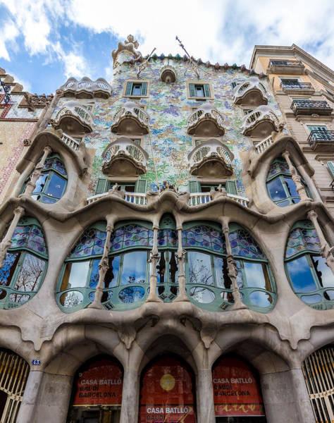 Photograph - Casa Batllo Barcelona Spain by Adam Rainoff