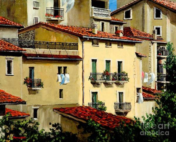 Wall Art - Painting - Casa Del Sol by Michael Swanson