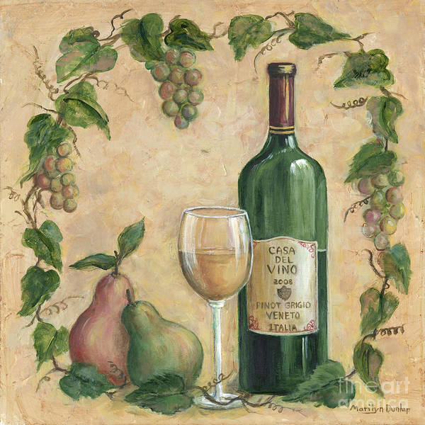 Wall Art - Painting - Casa Del Vino by Marilyn Dunlap