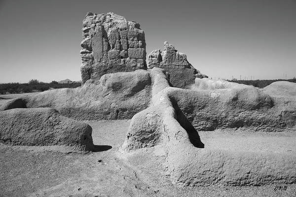Photograph - Casa Grande I Bw by David Gordon