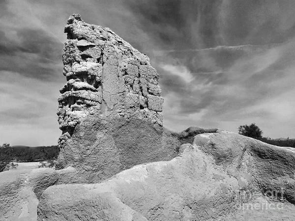Disappearance Photograph - Casa Grande Ruins II by Sean Griffin