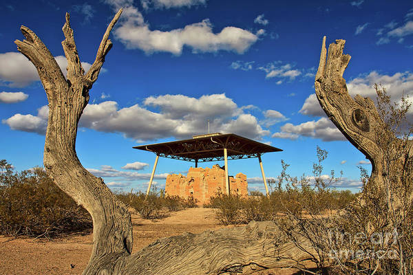Casa Grande Ruins National Monument Art Print
