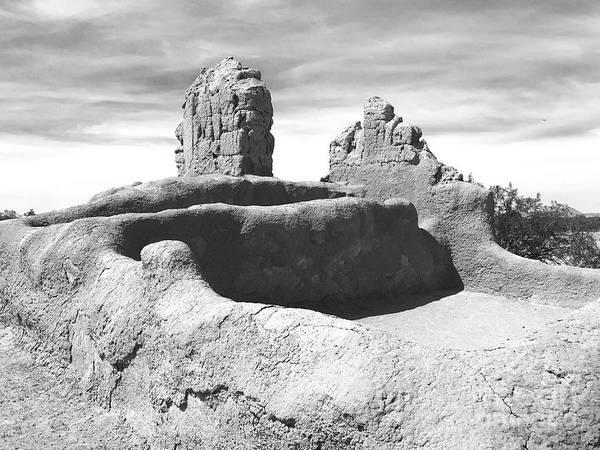 Disappearance Photograph - Casa Grande Ruins by Sean Griffin