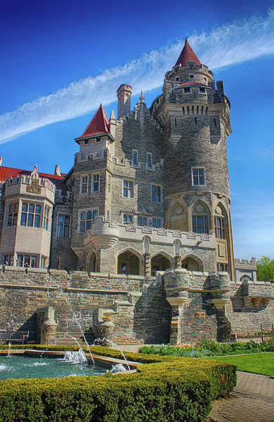 Photograph - Casa Loma Castle 04 by Carlos Diaz
