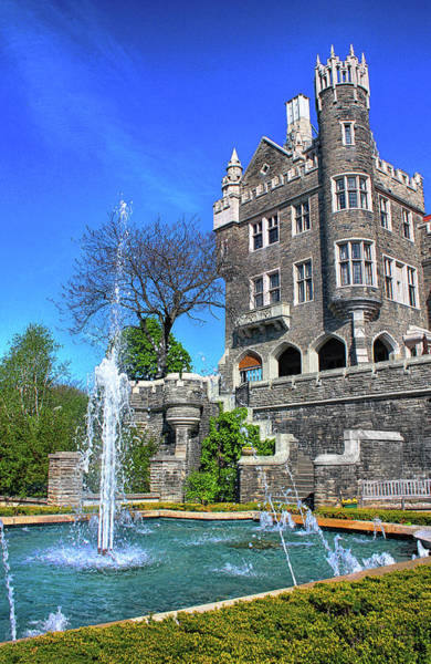 Photograph - Casa Loma Castle Series 03 by Carlos Diaz