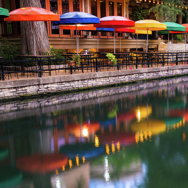 Photograph - Casa Rio On The San Antonio Riverwalk - 1x1 by Gregory Ballos