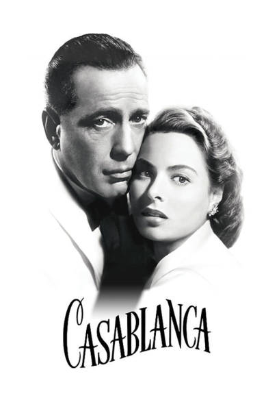 Bogart Digital Art - Casablanca Love by Daniel Hagerman