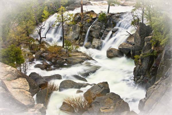 Wall Art - Photograph - Cascade Creek From Above by Jim Dohms