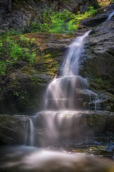 Wall Art - Photograph - Cascade Falls, Saco, Maine by Rick Berk